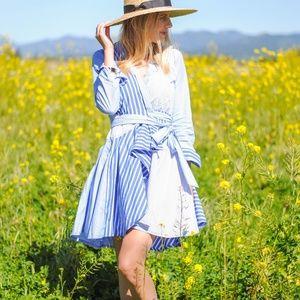 e597dddc4b4 Anthropologie Dresses - MAEVE Newport Striped Shirtdress